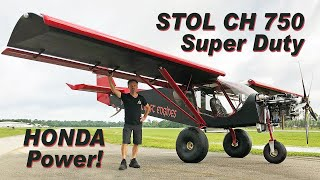 STOL CH 750 Super Duty powered by the Viking Honda engine