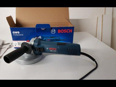Unboxing Bosch Professional Winkelschleifer GWS 7-125 Deutsch