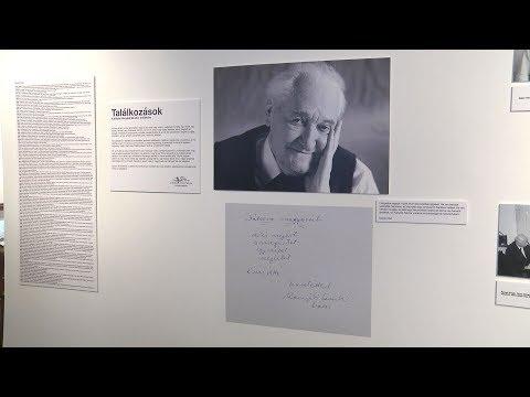 Találkozások - Kányádi Sándor Emlékkiállítás - video preview image