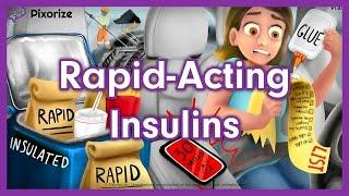 Rapid Acting Insulin Mnemonic Nursing Pharmacology (NCLEX)