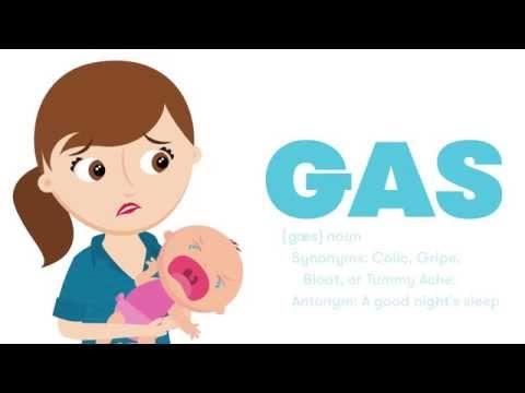 Gaasitoru Windi® beebidele, 10 tk