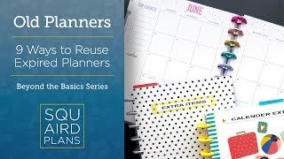 9 Ways To Reuse Expired Planners :: Beyond the Basics :: Planner Ideas