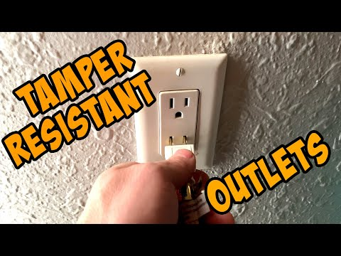 How TAMPER RESISTANT RECEPTACLES Work & Where They're Required By The National Electrical Code