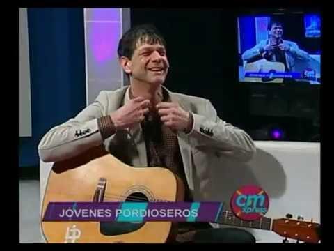 Jóvenes Pordioseros video Entrevista + Canciones - Estudio CM 2016