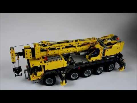 Vidéo LEGO Technic 42009 : Grue mobile MK II