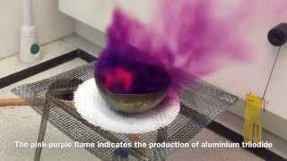 Aluminium (aluminum) and Iodine - Purple Haze