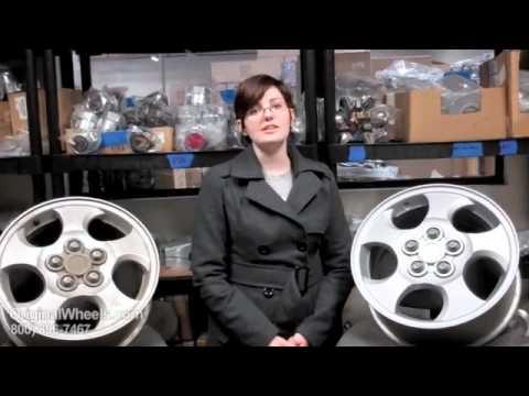 L Series Rims & L-Series Wheels - Video of Saturn Factory, Original, OEM, stock new & used rim