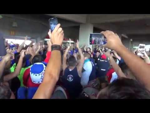 """""""¡¡¡LA MEJOR HINCHADA DE CHILE!!!/LOS DE ABAJO/"""" Barra: Los de Abajo • Club: Universidad de Chile - La U"""