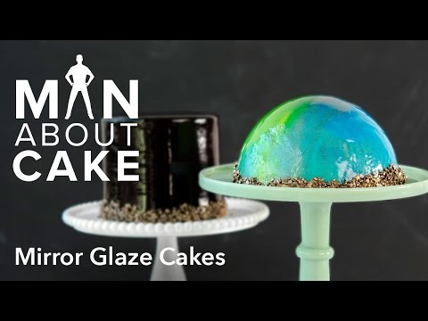 Video (man about) Mirror Glaze Cakes | Man About Cake with Joshua John Russell