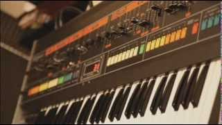 Roland Jupiter-8 Analog Synth and Eventide Eclipse