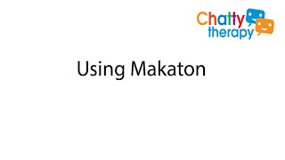 Using Makaton