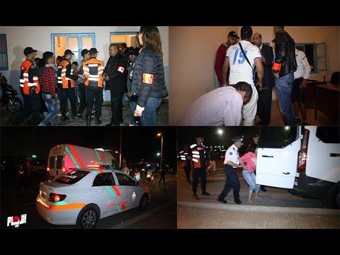 شاهد فيديو - اعتقالات بالجملة في مهرجان موازين