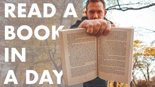 READ A BOOK IN A DAY (how to speed-read and remember it all)