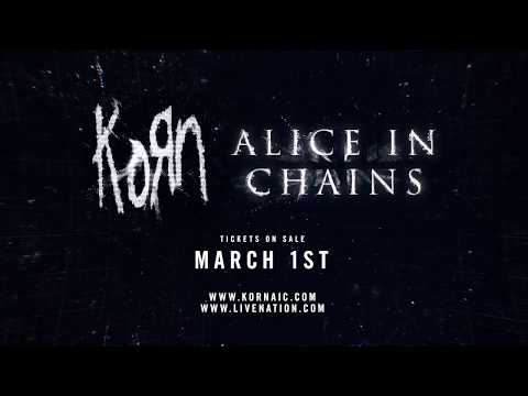 korn alice in chains announce co headlining tour metal anarchy. Black Bedroom Furniture Sets. Home Design Ideas