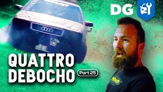 Quad Turbo LS-Swapped Audi Clutch Gets Some International Expertise | Kholo.pk