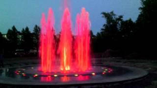Киришский музыкальный фонтан (тестирование 1, П.И.Чайковский)