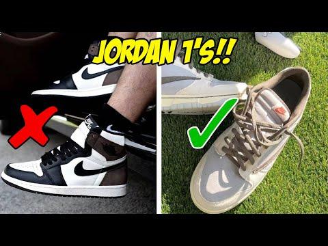 5 MISTAKES YOU'RE MAKING WEARING JORDAN 1'S!