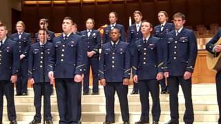 """""""Bluest Eyes in Texas"""" -- U.S. Coast Guard Academy Glee Club, Feb. 4, 2012"""