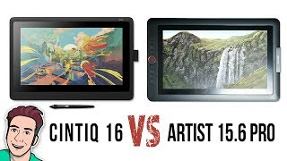 Download Wacom Cintiq 16 VS XP-Pen Artist 15 6 Pro - Review