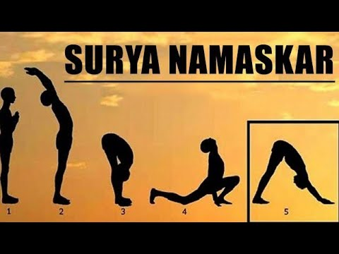 सूर्या नमस्कार कैसे करें STEP BY STEP SURYA NAMASKAR FOR BEGIN #QUICK WEIGHT LOSE#NO REMEDY#NO DIET