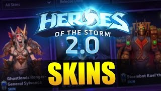 All the skins + their new pricing! // Heroes of the Storm 2.0 Beta