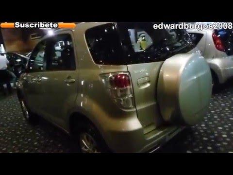 daihatsu terios 2013 colombia video de carros auto show expomotriz medellin 2012 FULL HD