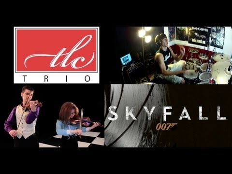 Skyfall - Adele - Cover (Full Song) - (TLC Trio Cover) ft. COOP3RDRUMM3R