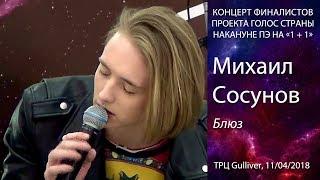 Михаил Сосунов – Блюз (Земфира cover). Киев, ТРЦ Gulliver,  11.04.2018.