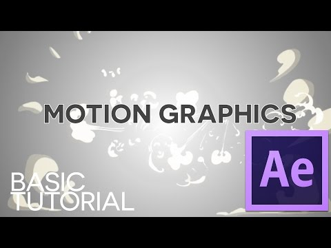 Motion Graphics – AFTER EFFECTS Basic Tutorial