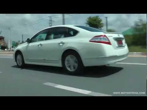 Test Drive Nissan Teana 200 XL Xtronic CVT