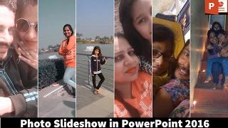 Cara Membuat Slideshow Foto Yang Bagus | Tutorial Powerpoint 2016 | The Teacher