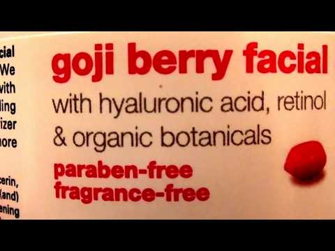 ANTI AGING HYDRATION Home Health Goji Berry Facial Cream Fragrance Free