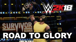 WWE 2K18: New 'Road To Glory' Online Mode Trailer
