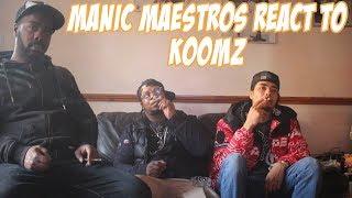Manic Maestros React To Koomz   Mariah [Music Video]   GRM Daily