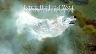 Skyrim Mod: Fenrir the wolf follower.