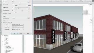 Autodesk Revit Architecture 2011 Visual Styles&Rendering