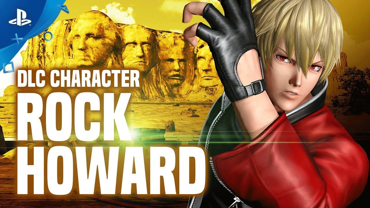 Fan-Favorite Rock Howard Joins King of Fighters XIV