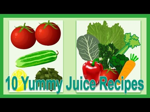 Video 10 Yummy Juice Recipes