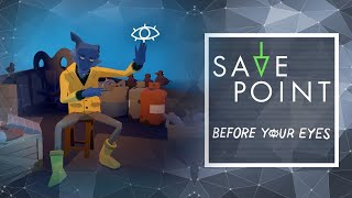 Before Your Eyes & Jackbox Games - Save Point w/ Becca Scott (Gameplay and Funny Moments)