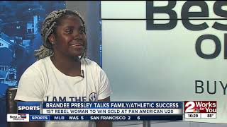 Brandee Presley Talks Family and Athletics Success