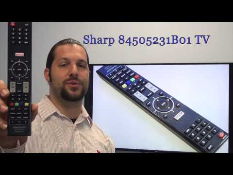 SHARP 84505231B01 Remote Control