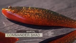 Мягкие приманки narval commander shad 16cm 003-grape violet