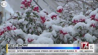 Let it snow (in Iowa)!