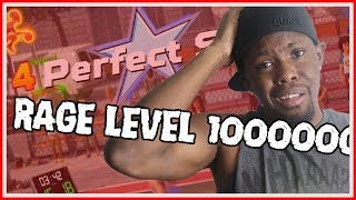 RAGE LEVEL 1000000000!!!!! - NBA Playgrounds Online Match