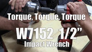 "Our Experience With The W7152 Ingersoll Rand 1/2"" Impact Wrench 1,500 ft-lbs Nut Busting"