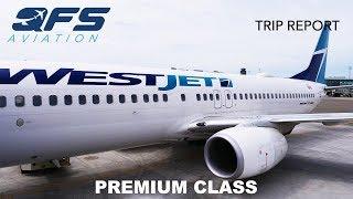 TRIP REPORT | WestJet   737 800   Los Angeles (LAX) To Vancouver (YVR) | Premium Class