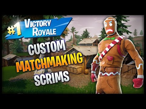 (NA-EAST) CUSTOM MATCHMAKING SOLO/DUO/SQUAD SCRIMS FORTNITE LIVE PS4,PC,XBOX,SWITCH,MOBILE
