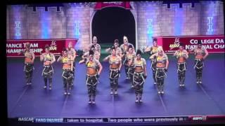 LSU Tiger Girls UDA College Dance Team National Championship Hip Hop 2013