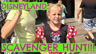 DISNEYLAND SCAVENGER HUNT!  Hidden things, you really have to HUNT!