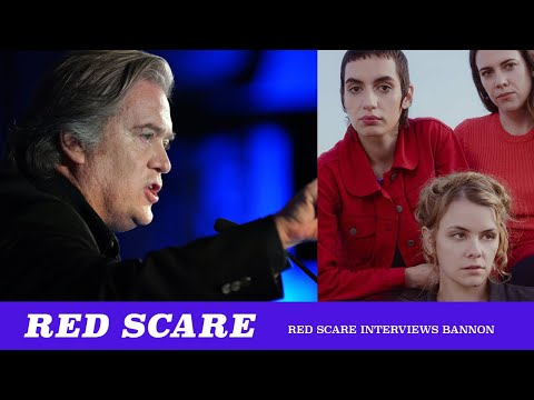 Michael Reacts To Red Scare Interviewing Steve Bannon